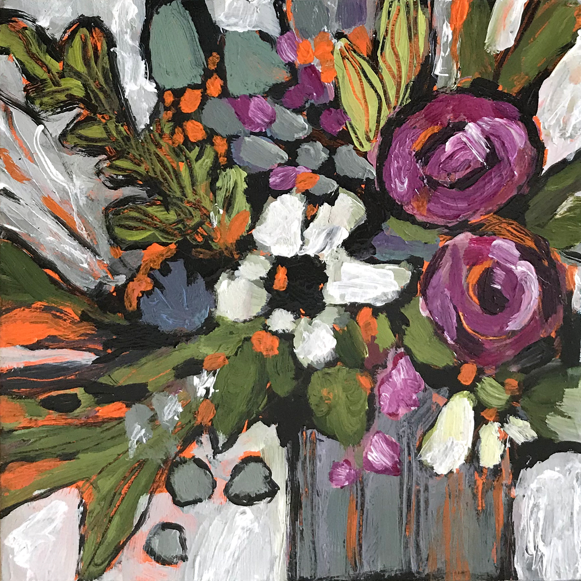 Dana Boucher Lush Acrylic 5x5