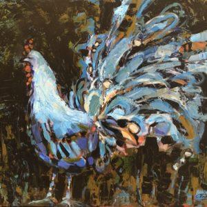 Cheryl Vratsenes Show Off Acrylic 20x24 995