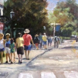 Randy Knowles Shore Road Oil 8x10 485