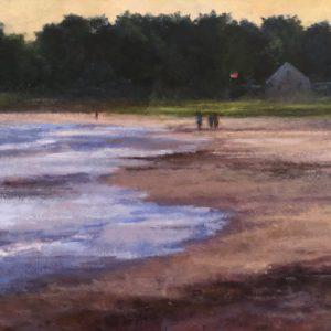 Randy Knowles Parsons Beach Oil 24x48 2,200