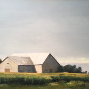 Molly Wensberg Old New England Oil 24x30 2,700