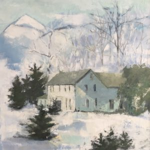 Molly Wensberg Light and Shadow Oil 24x36 2,500