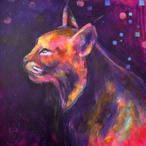 Rosemary Conroy Duchess Of Piscataquog acrylic 36x36 $2,798