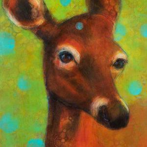 Rosemary Conroy Artemis' Daughter Acrylic 24x36.5 $1,998