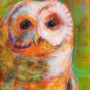 Rosemary Conroy Sister Of Owls Acrylic 18x24 $1,448