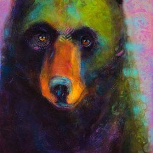 Rosemary Conroy Queen Of The Bears Acrylic 24x36.5 $1,998