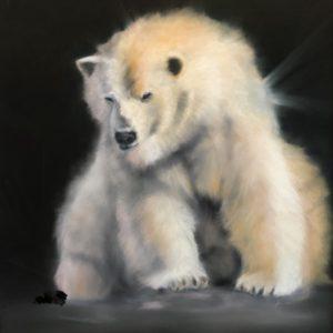 Josee Severino Healing Light Pastel 26x26 1,600