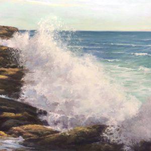 Judy McKenna Nor'easter pastel 12x16
