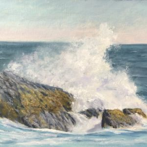 Judy McKenna Breaker Oil 12x16 895