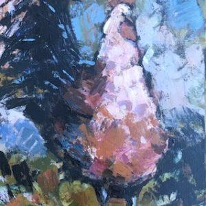 Cheryl Vratsenes Look at me Acrylic 15x30 950