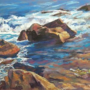 Sandra Kavanaugh Gloucester Pastel 14x18 950
