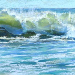 Sandra Kavanaugh Ebbing Pastel 9x18 550