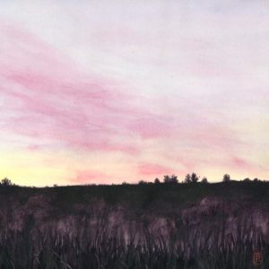 Darlene Robyn Morning Blush Watercolor 12x12 700