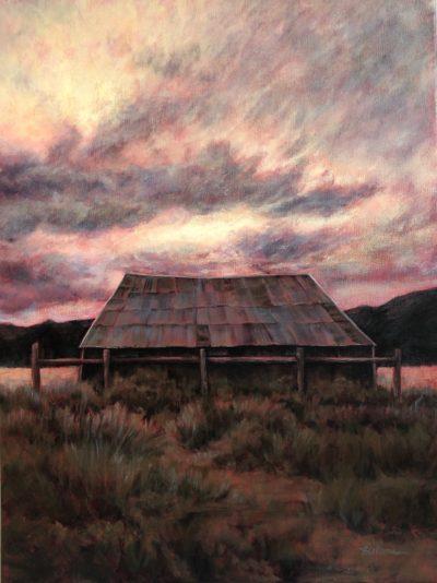Marcia Blakeman Day is Done Acrylic 18x24 1100