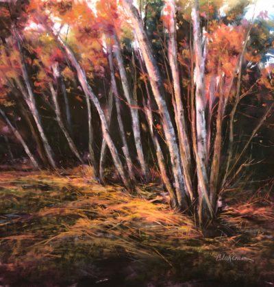 Marcia Blakeman Autumn Glow Pastel 16x16 1200