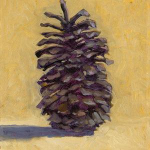 Colin Callahan Pinecone Oil 8x10 400