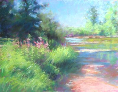 Sandra Kavanaugh Summer Daze Pastel 9x12 475