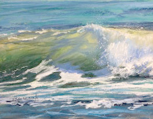 Sandra Kavanaugh Sea Fever no.29 Pastel 9x12 475