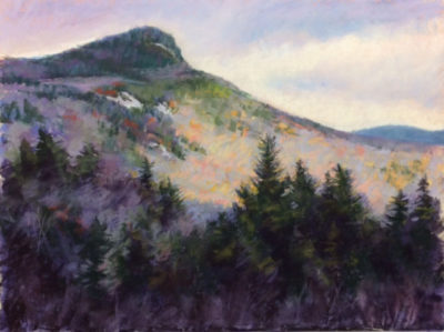 Sandra Kavanaugh Kancamagus After the Rain Pastel 18x24 850
