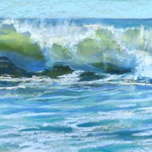 Sandra Kavanaugh Ebb Tide Pastel 9x18 550