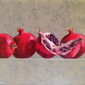 Colin Callahan Pomegranates Oil 12x16 900
