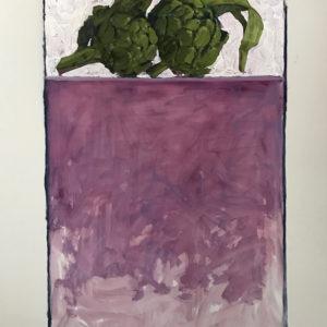 Colin Callahan Artichokes 20x36 1,250