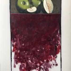 Colin Callahan Green Apples Oil 20x36 1,250