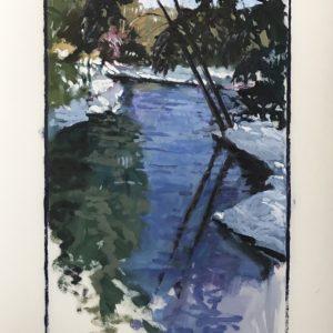 Colin Callahan Pond Winter 20x36 1,250