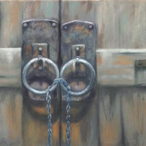 Josee Severino Lost Keys Pastel 27x40 2400