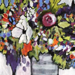 Dana Boucher Started From Seeds Acrylic 24x36