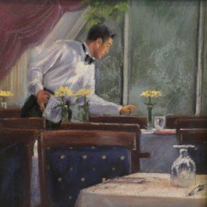 Randy Knowles The Setup Pastel 8x8 485