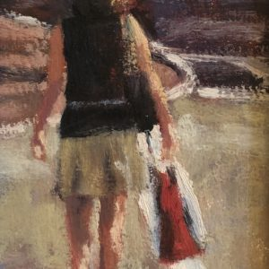 Randy Knowles Shopping Spree Oil 4x8 285