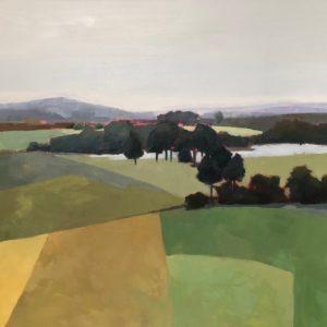 Molly Wensberg Fieldwork Oil 36x48 5,500