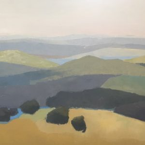 Molly Wensberg Mountain Adagio Oil 24x36 3,500
