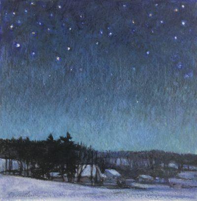 Sandy Wadlington Starry Night Caran d'ache 225