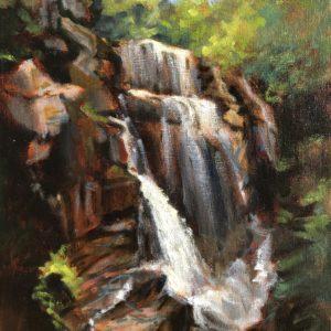 Sandra Kavanaugh Cascade oil 8x10