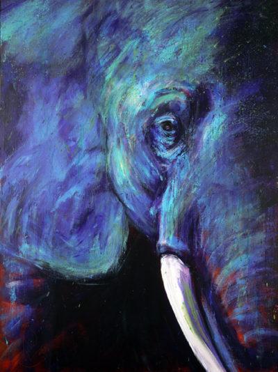 Rosemary Conroy Her Royal Majesty Acrylic 36x48 $3,698