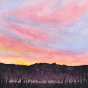 Darlene Robyn Morning Moment Watercolor 12x8 600