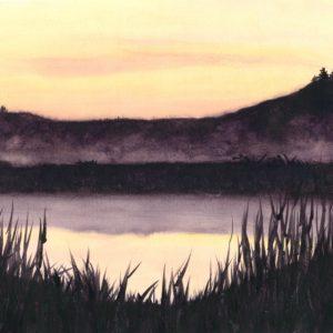 Darlene Robyn Morning Glow Watercolor 800 11x18