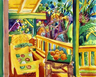 Bruce McColl Minneolas watercolor 16x20 2500
