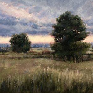 Marcia Blakeman Distant Downpour 9x20 1100