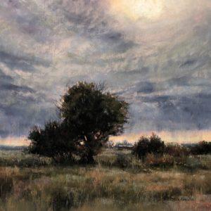 Marcia Blakeman Light Rain Pastel 9x9 595