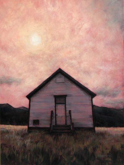 Marcia Blakeman School of the Past Acrylic 18x24 1100
