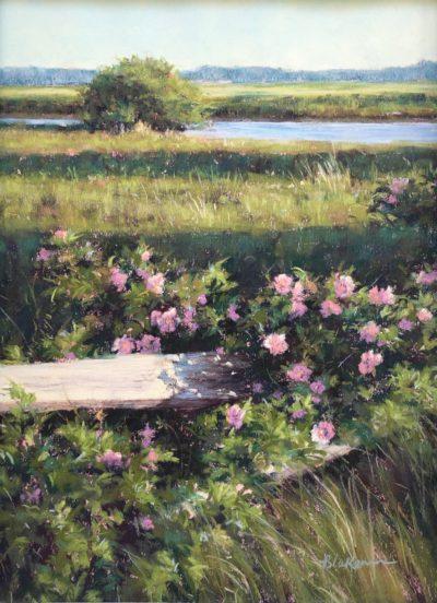 Marcia Blakeman Summer Fragrance Pastel 11x14 850
