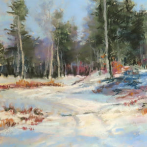 Sandra Kavanaugh Winter Walk Pastel 8x10 400