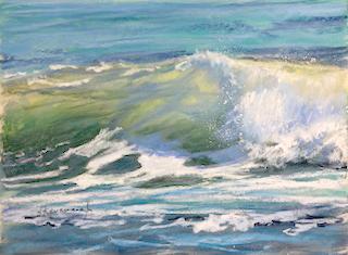 Sandra Kavanaugh Sea Fever no.29 Pastel 9x12 475