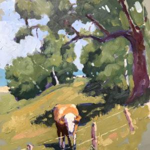 Colin Callahan Bavarian Cow 9x12 600
