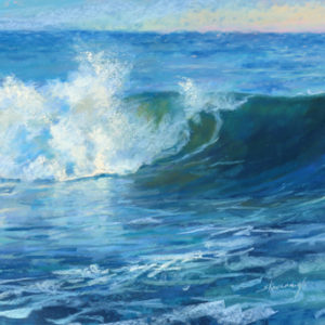 Sandra Kavanaugh Summertime Blues Pastel 16x20 750