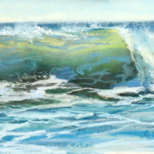 Sandra Kavanaugh Splash Pastel 9x12 475