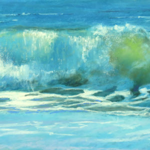 Sandra Kavanaugh Surf Ballet Pastel 12x24 750
